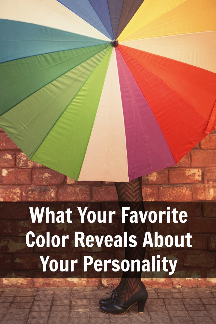 What Your Favorite Color Reveals About Your Personality ~