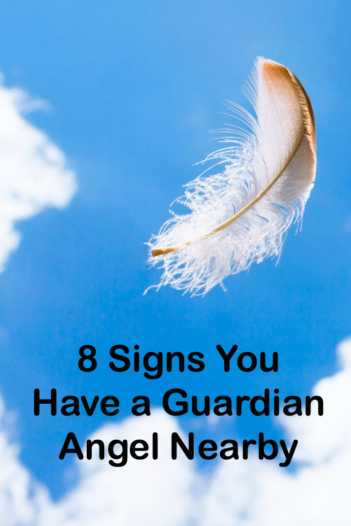 8 Signs You Have a Guardian Angel Nearby ~ http://personalitybuzz.com/signs-guardian-angel-nearby/